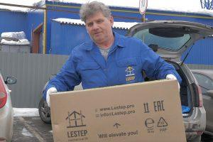 """Комплекты """"LESTEP"""" поставляются в коробках, которые удобно переносить"""
