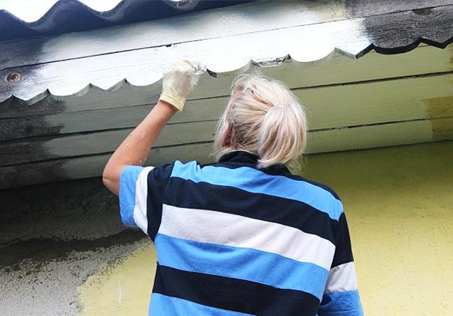 Акриловая краска фасадная
